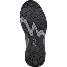 Jack Wolfskin MTN Attack 5 Texapore Hiking Shoes Mid Cut Women grey haze